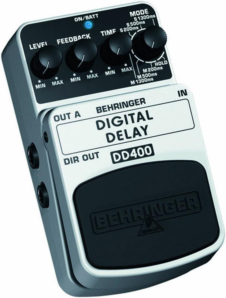 Behringer DD400 4033653052115 - Pedal de efecto phaser para ...