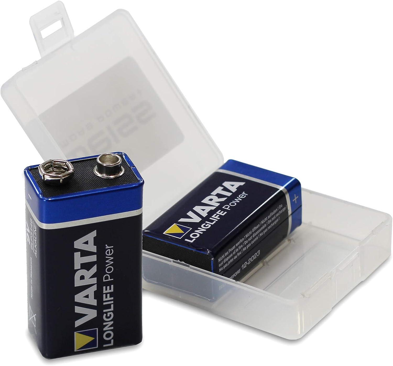 2er Pack Varta 4922 Longlife Power 9v Block Batterie Elektronik