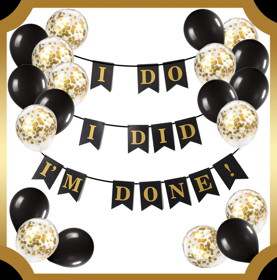 Blesiya Large Hello Party Letters Foil Mylar Balloons Party Decorations Prop
