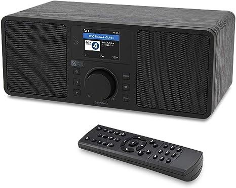 DIGITAL WLAN INTERNET RADIO TUNER NETZWERK AUDIO PLAYER RETRO AUX LAUTSPRECHER