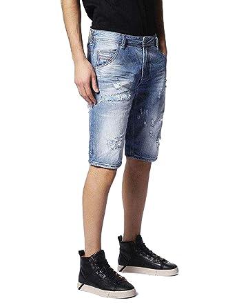 Diesel Kroshort 084CM Pantalones Vaqueros Hombre Bermudas ...