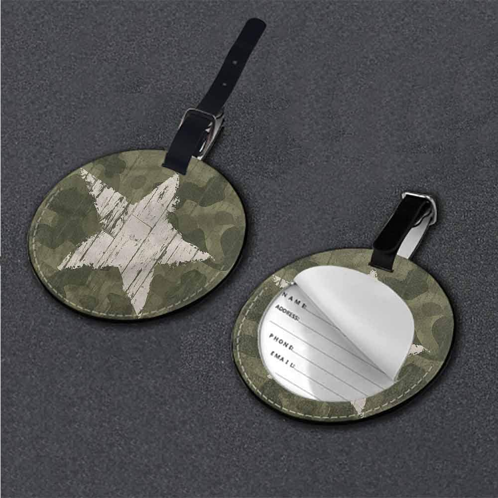 Travel Accessories Camouflage,Camo Style Shades Tag Portable Women