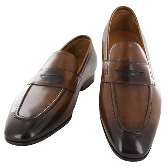 New Fiori Di Lusso Brown Leather Shoes