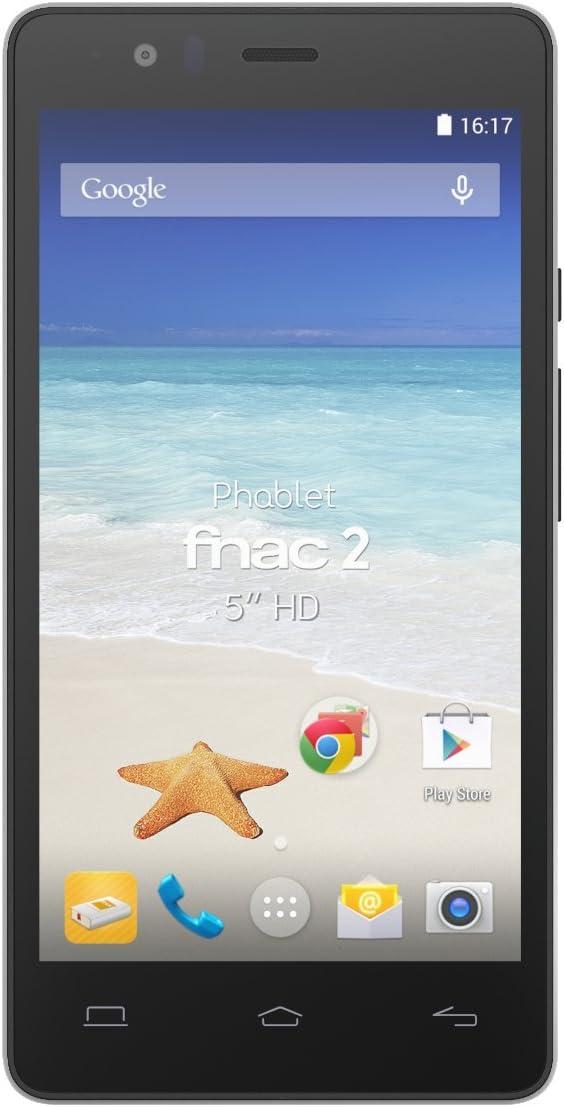 Bq C000067 Phablet Fnac 2 De 5 Lte Qualcomm Snapdragon 410 Memoria De 16 Gb Ram 1 Gb Wifi Bluetooth 4 0 Android 4 4 Color Negro Amazon Es Electrónica