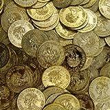Pièces D'or (144 Pc) -plastique Jouet Pièces de monnaie pour les Parties de Pirate jouet]