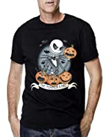 Jack Skellington Nightmare Before Christmas Fan Art for Men T Shirt