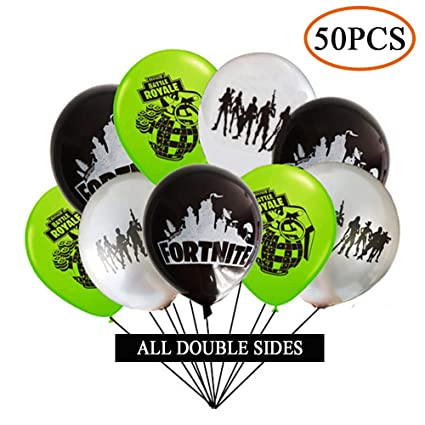50PCS Game Party Supplies Balloons