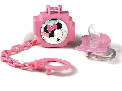 Chupete/chupete con para chupete con cadena y caja Minnie ...