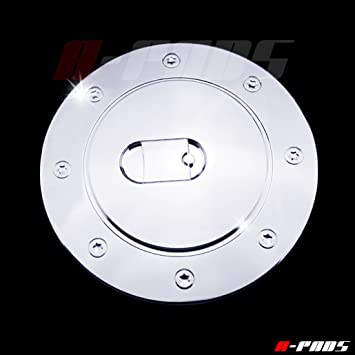 1999-2006 CHEVY SILVERADO Triple ABS Chrome Fuel Gas Door Cover Cap Overlay Trim
