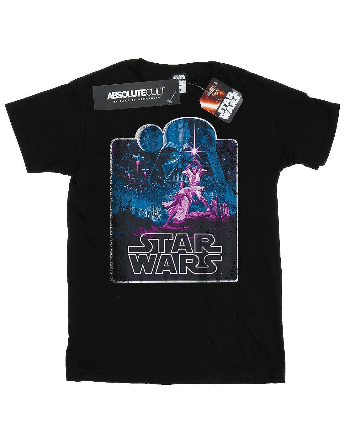 Star Wars Boys Movie Montage T-Shirt