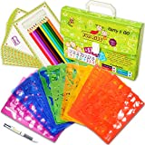 Drawing Stencils Set for Kids (54-Piece) - Perfect Creativity Kit & Travel Activity - Arts and Crafts for Girls & Boys with Over 300 Shapes - Educational Toys Age 3+ Ideal Kids Gifts.