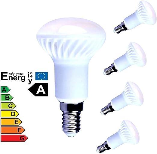 Lampaous 4er Pack R50 LED 5W E14 Reflektorlampe LED R50