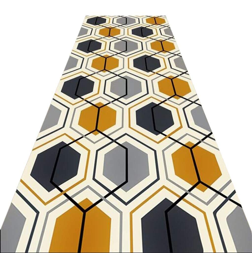 Mbd Corridor Carpet Living Room Porch Corridor Bedroom Bed Cushion Cushion Rectangular Mat, Full Shop Can Be Customized (Color : A, Size : 1.28m)