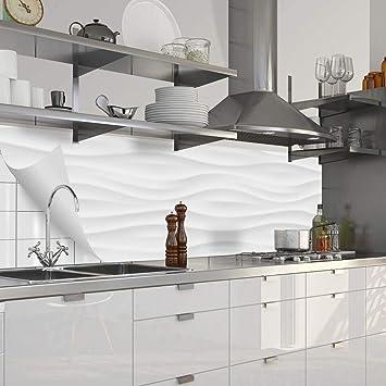 Myspotti - Küchenrückwand Fixy Ashley Hart-PVC 0,4 mm selbstklebend ...