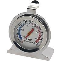 Gosear Termómetro de Horno con Cuadrante/Calibrador de Temperatura para Hogar Cocina con Construcción de Acero…