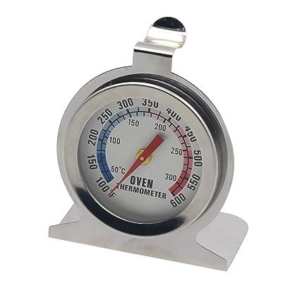 aac0ce07ee6fd Gosear Termómetro de Horno con Cuadrante Calibrador de Temperatura para  Hogar Cocina con Construcción de