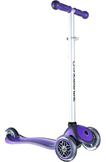 Amazon.com : Globber 3 Wheel Adjustable Height Scooter ...