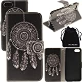 iPhone 8 Plus Case, iPhone 7 Plus Case, Wallet Purse Type Leather Credit Cards 7Plus Case with Cellphone Holder Flip Cover for Apple iPhone 7Plus 8Plus
