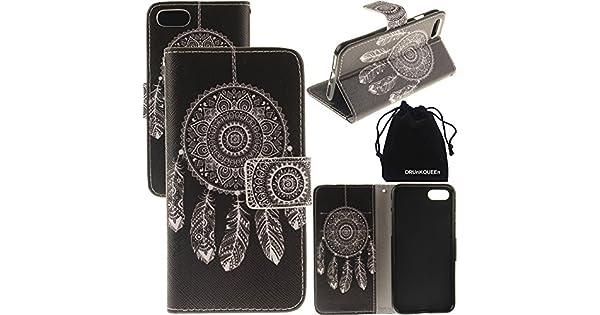 Amazon.com: drunkqueen iPhone 7 Plus Caso, portafolios ...