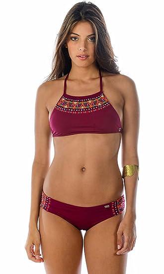 9d19a7ad29825 Banana Moon Bikini Shorts Maasai Azia Bordeaux: Amazon.co.uk: Clothing