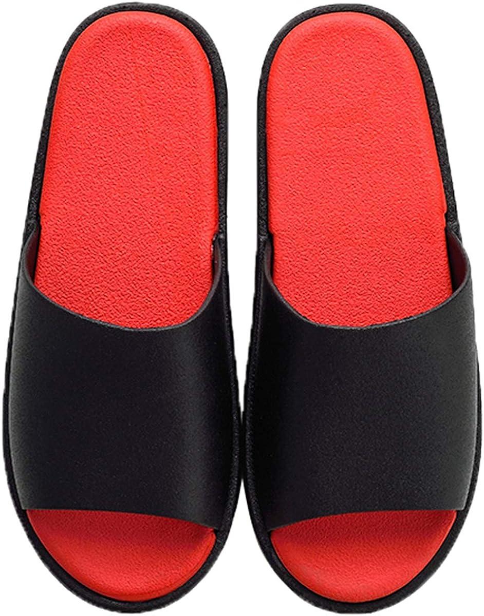 Tira Ancha Suela con Volumen de PVC Zapatillas de Casa para Verano Interior//Exterior Sandalia Tipo Chancla Bicolor de Hombre Mujer Unisex