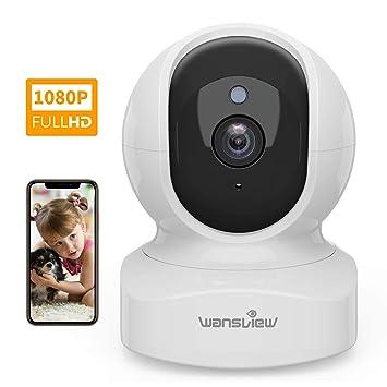 Amazon.com: Cámara de casa, cámara de seguridad inalámbrica ...