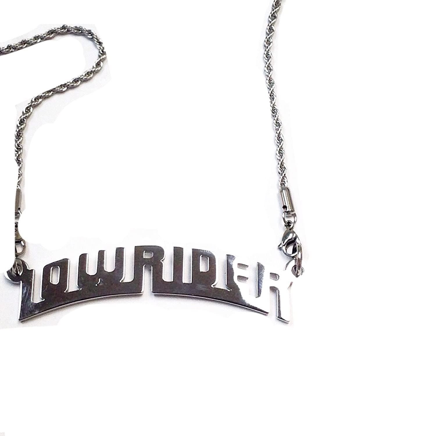 Lowrider Authentic Plaque Pendant withネックレス B01CZM34EO