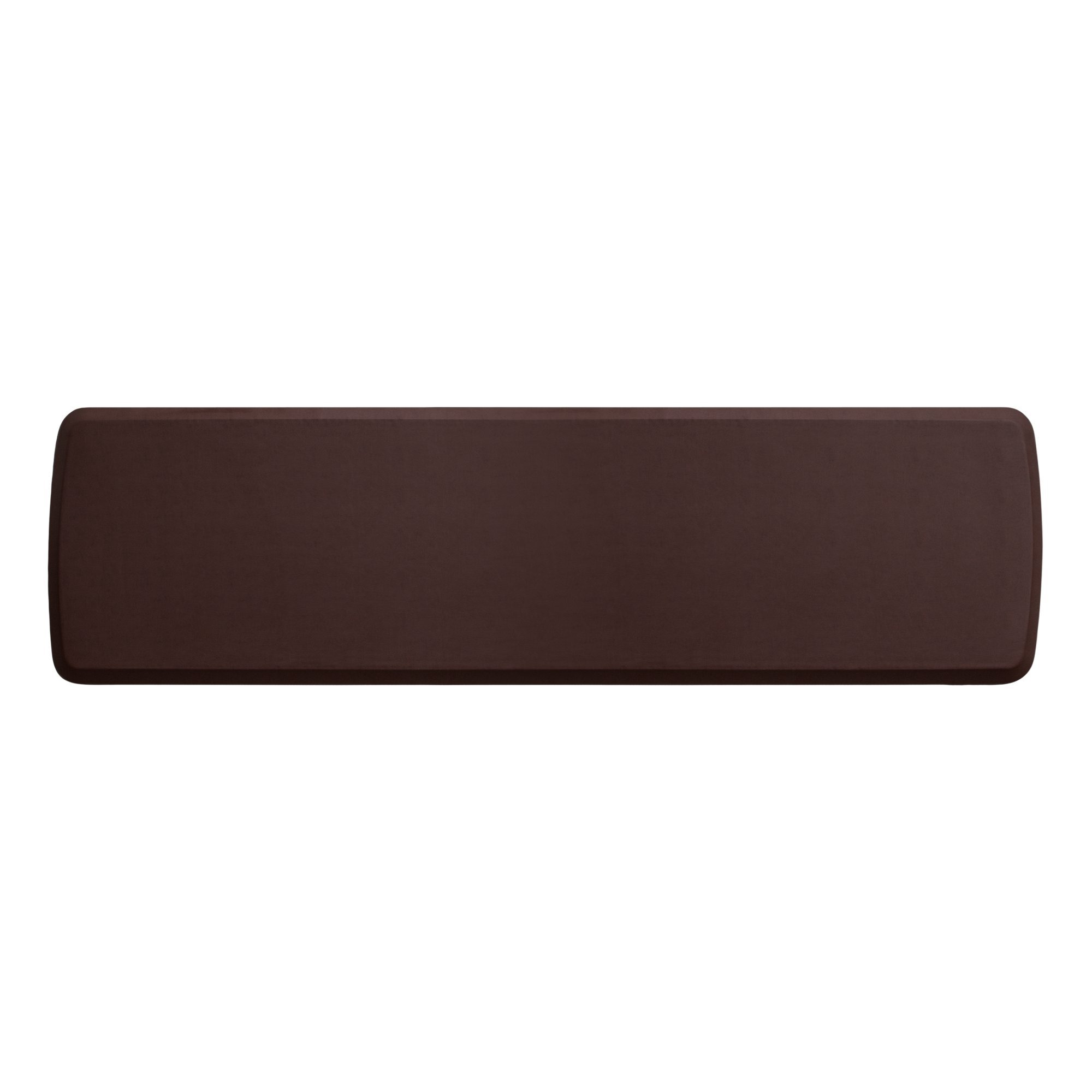 """GelPro Elite Premier Anti-Fatigue Kitchen Comfort Floor Mat, 20x72"""", Vintage Leather Sherry Stain Resistant Surface with Therapeutic Gel and Energy-return Foam for Health and Wellness"""