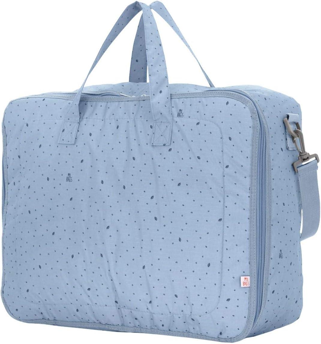 Danielstore Azul petr/óleo My Bags-Maleta Bebe Leaf