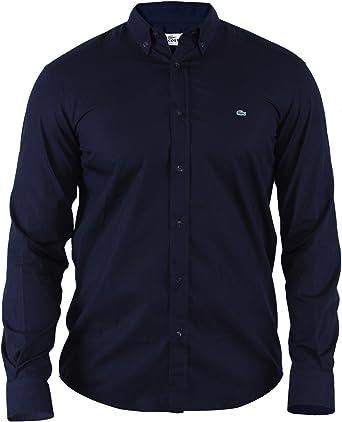 Lacoste Camisa Slim Fit | Hombre/Hombre S-XXL | Tiempo Libre/de Centro: Amazon.es: Ropa y accesorios