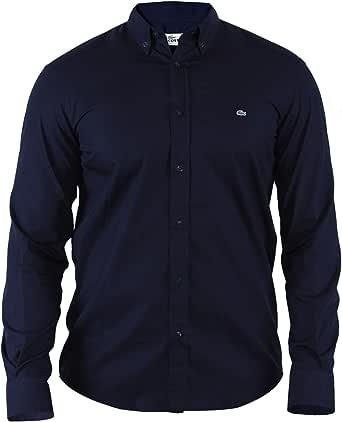 Lacoste Camisa Slim Fit   Hombre/Hombre S-XXL   Tiempo Libre/de Centro: Amazon.es: Ropa y accesorios