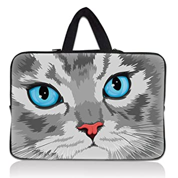 Thinking Cat 13 13 3 Inch Notebook Laptop Case Sleeve Amazon Co