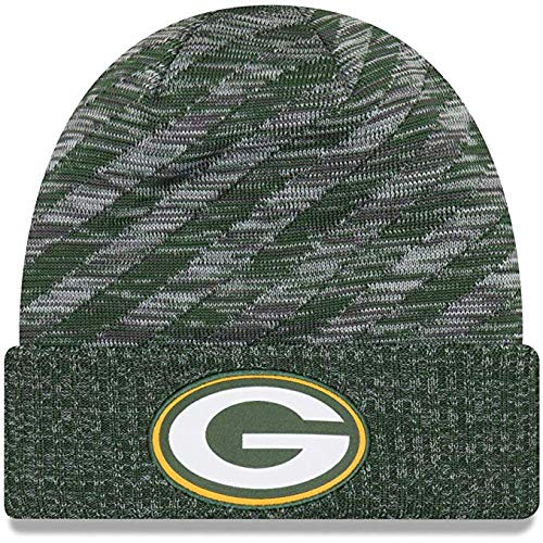 New Era 2018 NFL Green Bay Packers Touchdown Stocking Knit Hat Winter Beanie