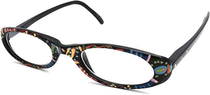 Hand painted reading glasses