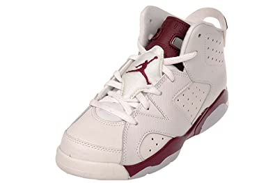 c1de05a8fa2e7 Jordan Air Retro 6 BP Little Kids Basketball Shoes (1 M US Little Kid