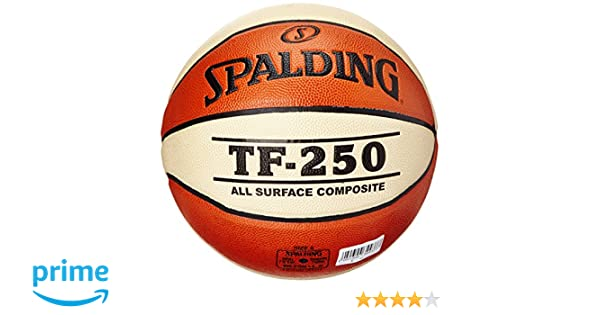 Spalding TF250 IN SZ.6 (74-584Z) balón de Baloncesto INT/out ...