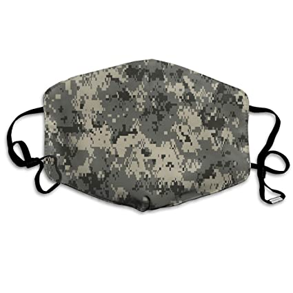df5563c602 Image Unavailable. Image not available for. Color: MSONNET Dust & Allergy  Mask - Army Camouflage 3D Print - Kids Kawaii Dental Surgical Medical