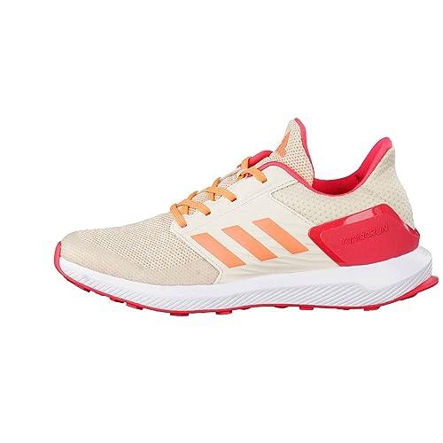 adidas Unisex-Kinder RapidaRun K Turnschuhe, Elfenbein (Ftwbla/Narsen/Lino),  38 EU: Amazon.de: Schuhe & Handtaschen