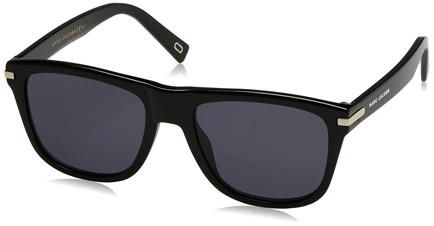 Black Marc Jacobs Mens Marc185s  Rectangular Sunglasses 54 mm