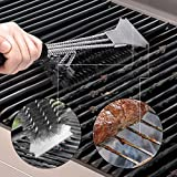Grill Brush and Scraper - Extra Strong BBQ Cleaner
