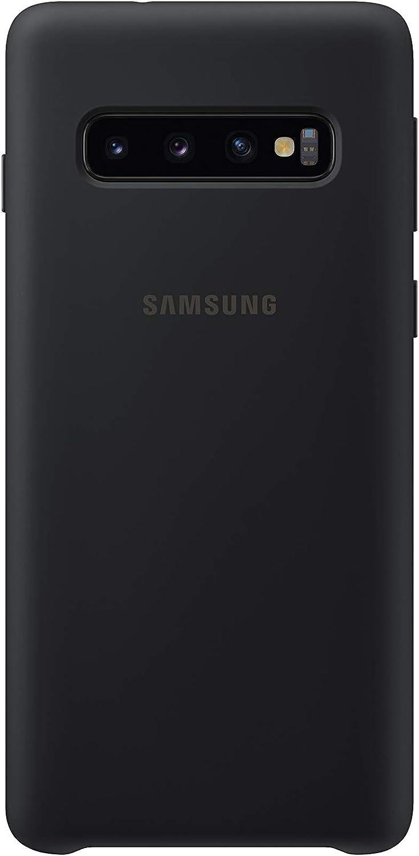 Silicone Cover Für Galaxy S10 Schwarz Elektronik