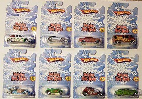 Rare Holiday HOT RODS Complete Set!39;07 Chevy Silverado,39;69 Corvette, CUSTOM39;53 Chevy, GMC Motorhome, ICE TUB, VW Beetle, Straight Pipes,39;47 Chevy Fleetline
