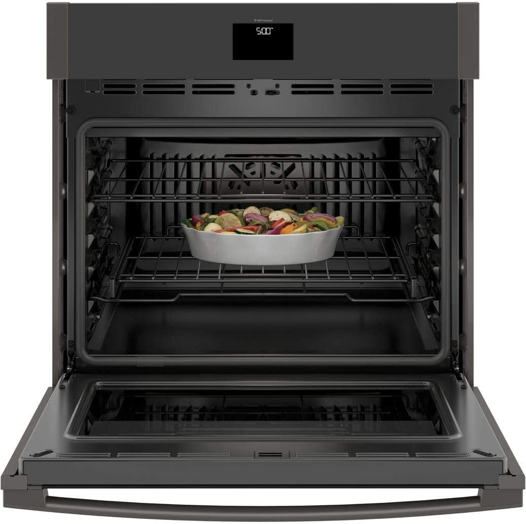 GE 30 Black Stainless Steel Built-In Convection Single Wall Oven ...