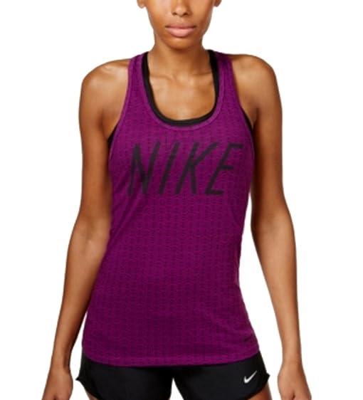 dc4e5c6f0a11 Nike Women s Printed Dri-FIT Tank Top at Amazon Women s Clothing store