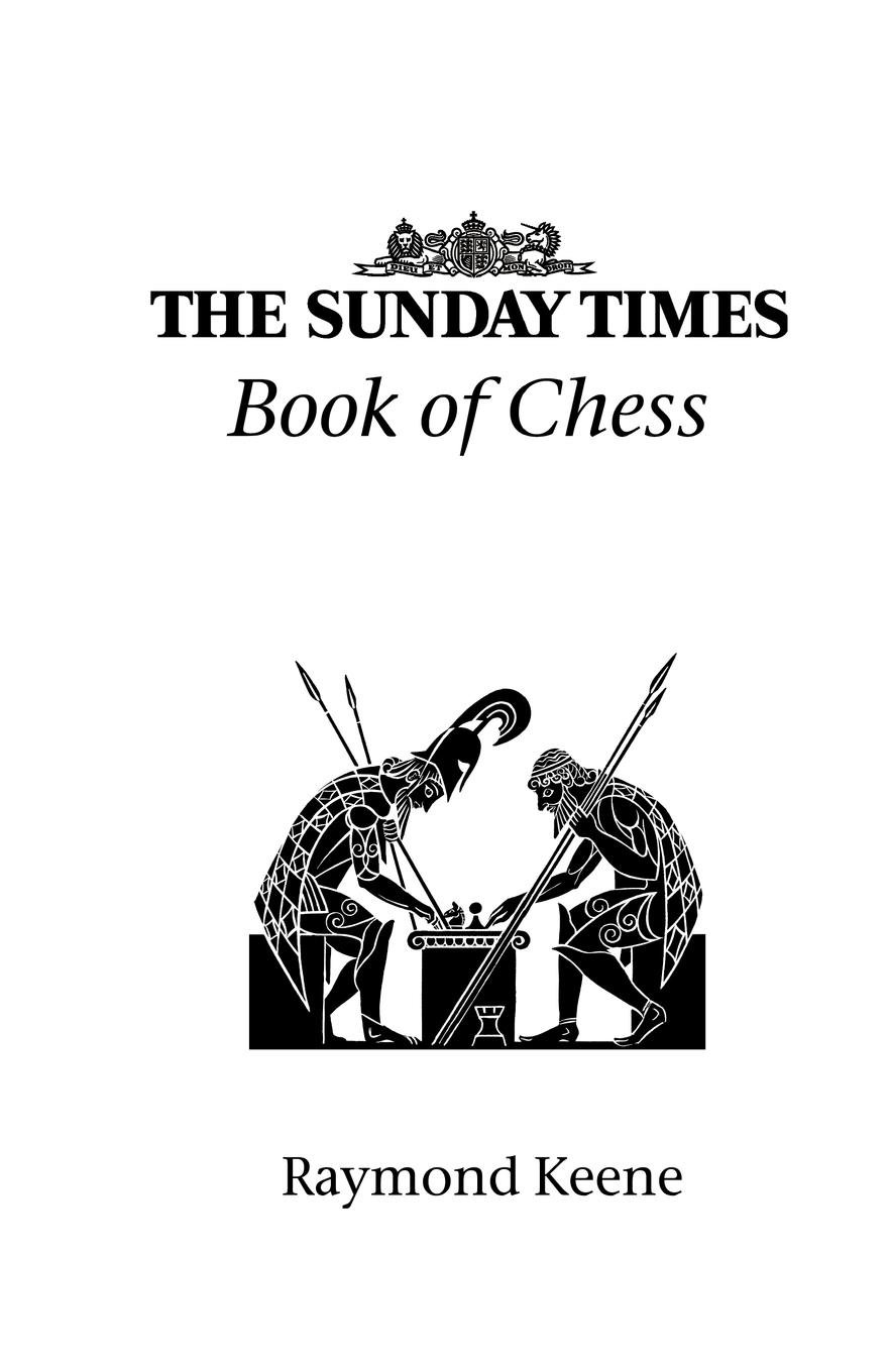 The Sunday Times Book of Chess PDF