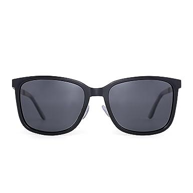 JIM HALO Leichtgewichts Polarisiert Sonnenbrille Vintage Groß Gradient Brille Damen Herren(Schildkröte/Polarisiert braun) 7paUkLx