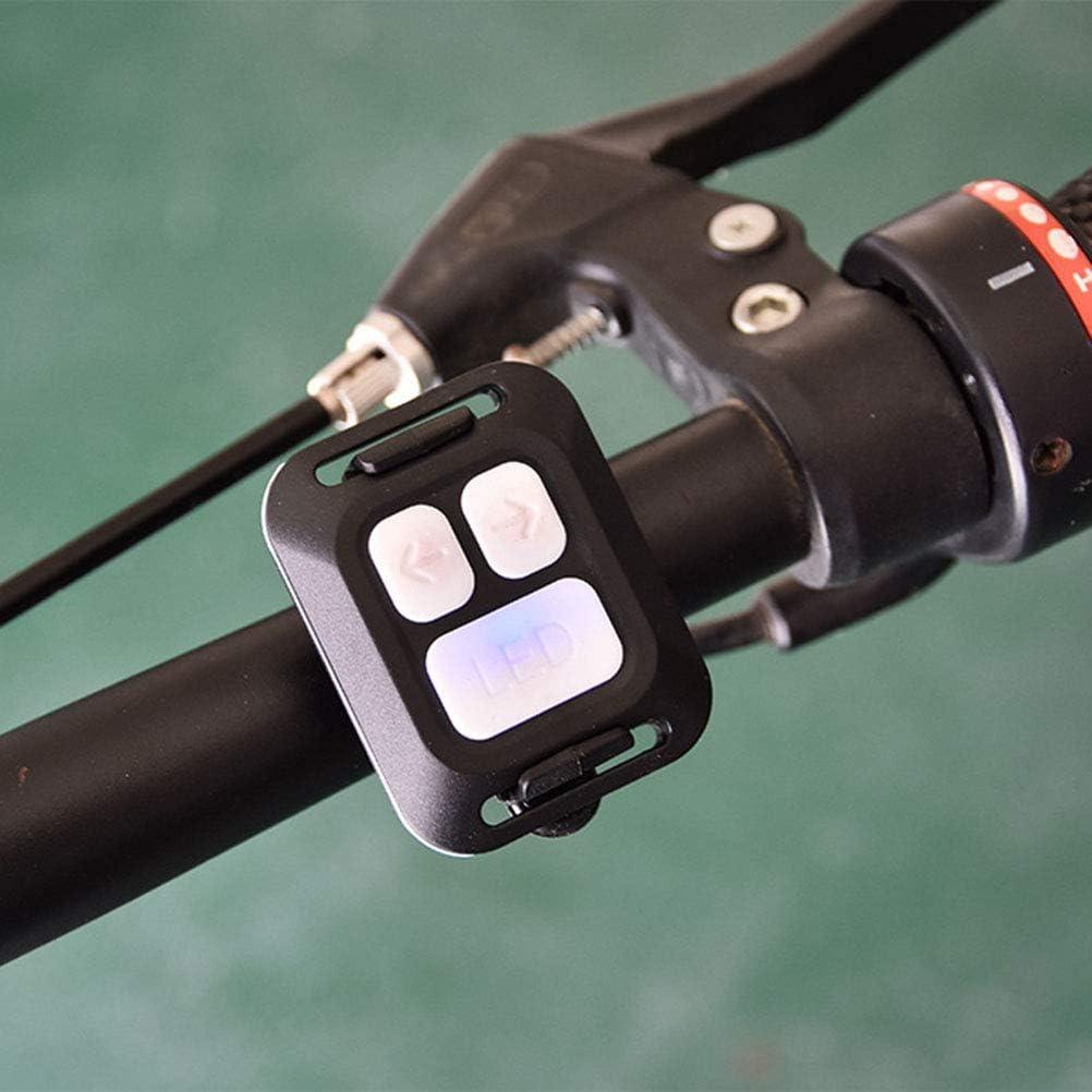 Ourine USB Rechargeable V/élo Clignotant sans Fil T/él/écommande V/élo Feu Arri/ère Avant Lumi/ère VTT V/élo Direction /Équitation Lumi/ère