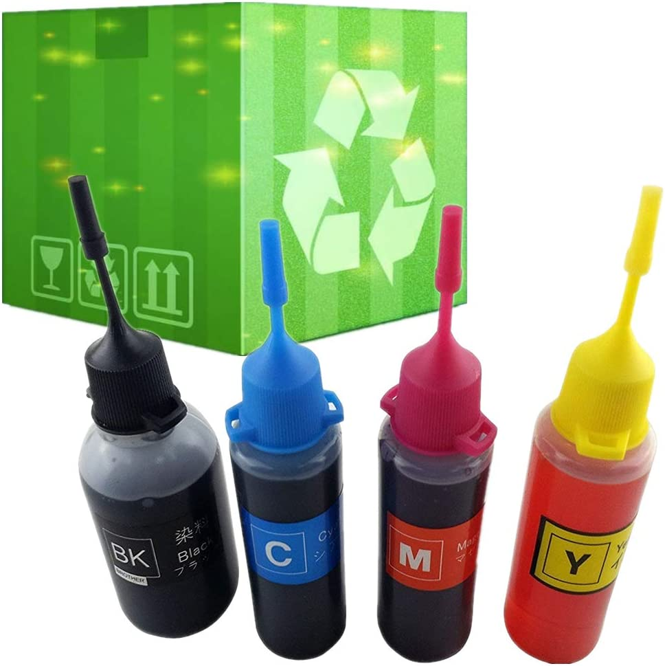 J2INK 4x50ml Refill Kit for HP 662 HP 662XL HP 664 HP 664XL HP 122 HP 122XL Ink Cartridge