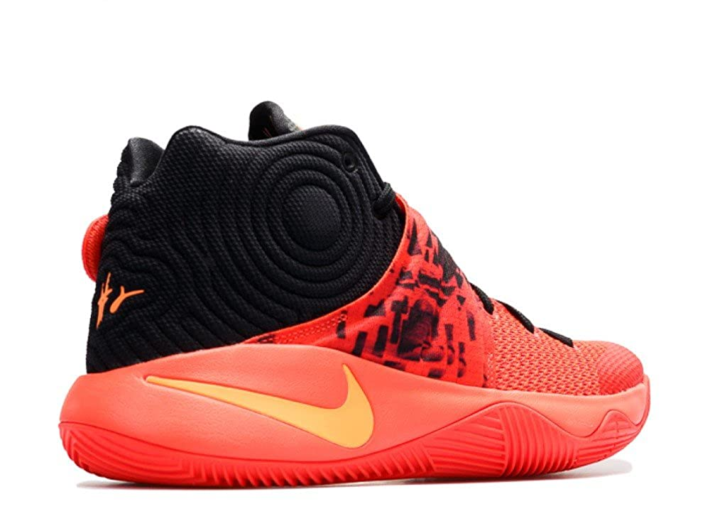 first rate c49d2 f1777 Amazon.com   NIKE Kyrie 2 Mens hi top Basketball Trainers 819583 Sneakers  Shoes (US 12, Bright Crimson Atomic Orange Black 680)   Basketball