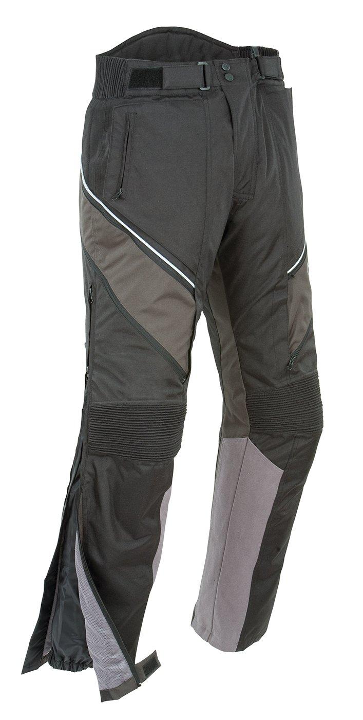 Joe Rocket Alter Ego 2.0 Men's Textile Pants (Black, Medium/Tall)